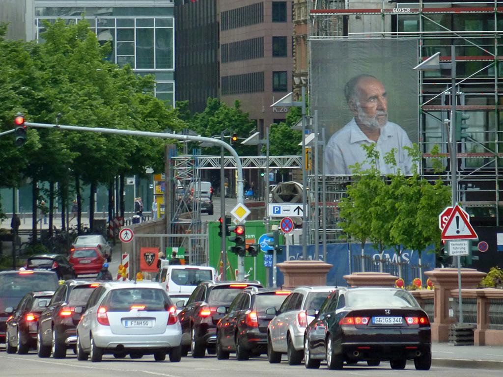 New Citizens Portraits in Frankfurt - Kunst im öffentlichen Raum