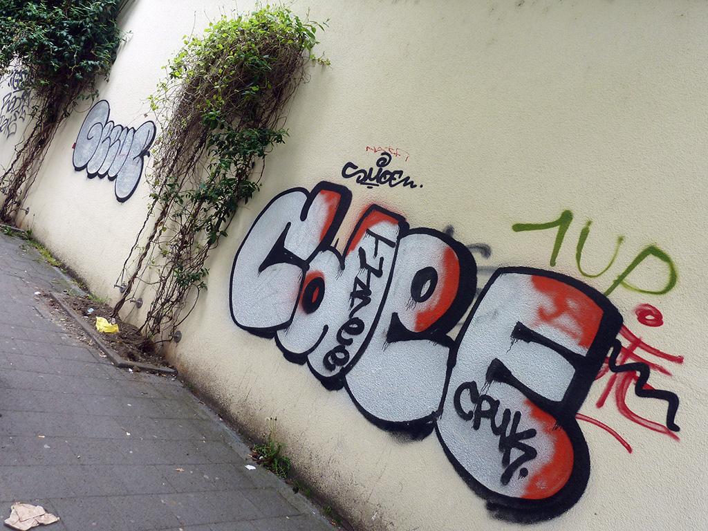 Graffiti in Offenbach - CDEE