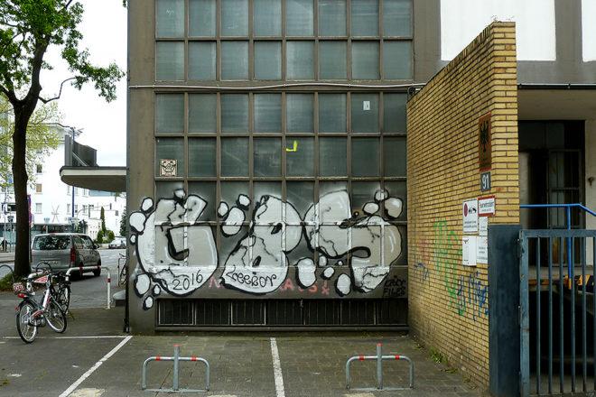 GBS-Graffiti in Offenbach