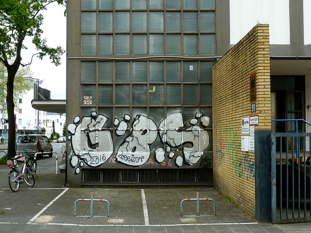 GBS-Graffiti in Offenbach