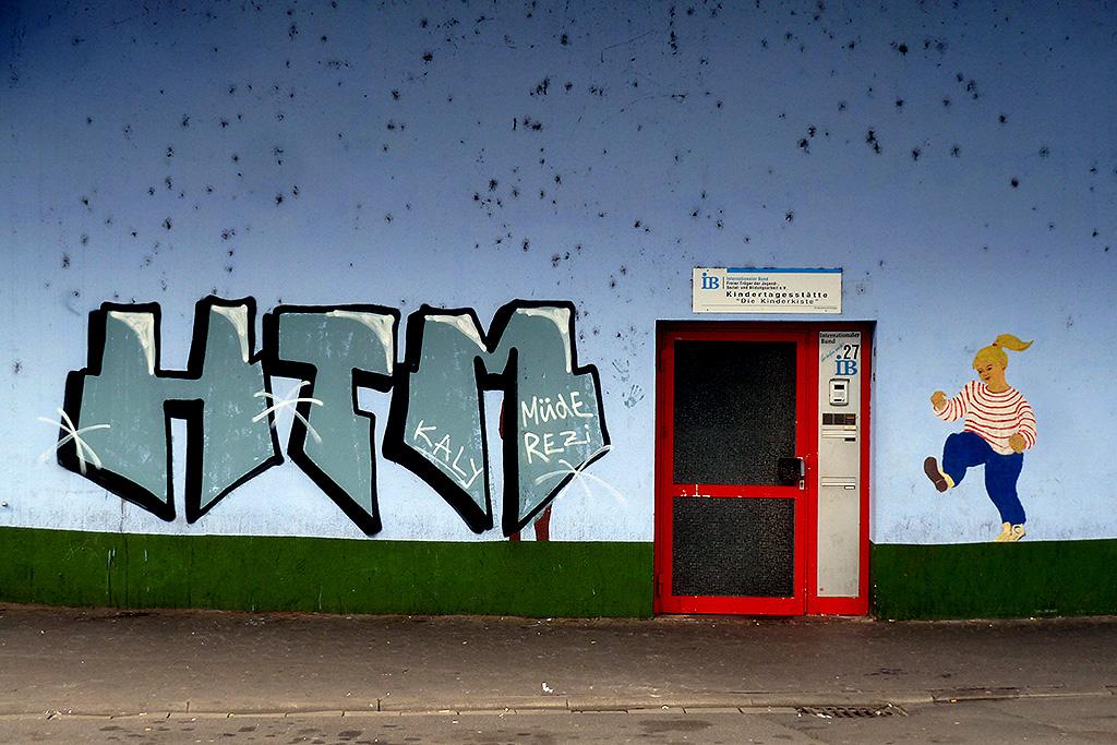 HTM-Graffiti in Offenbach