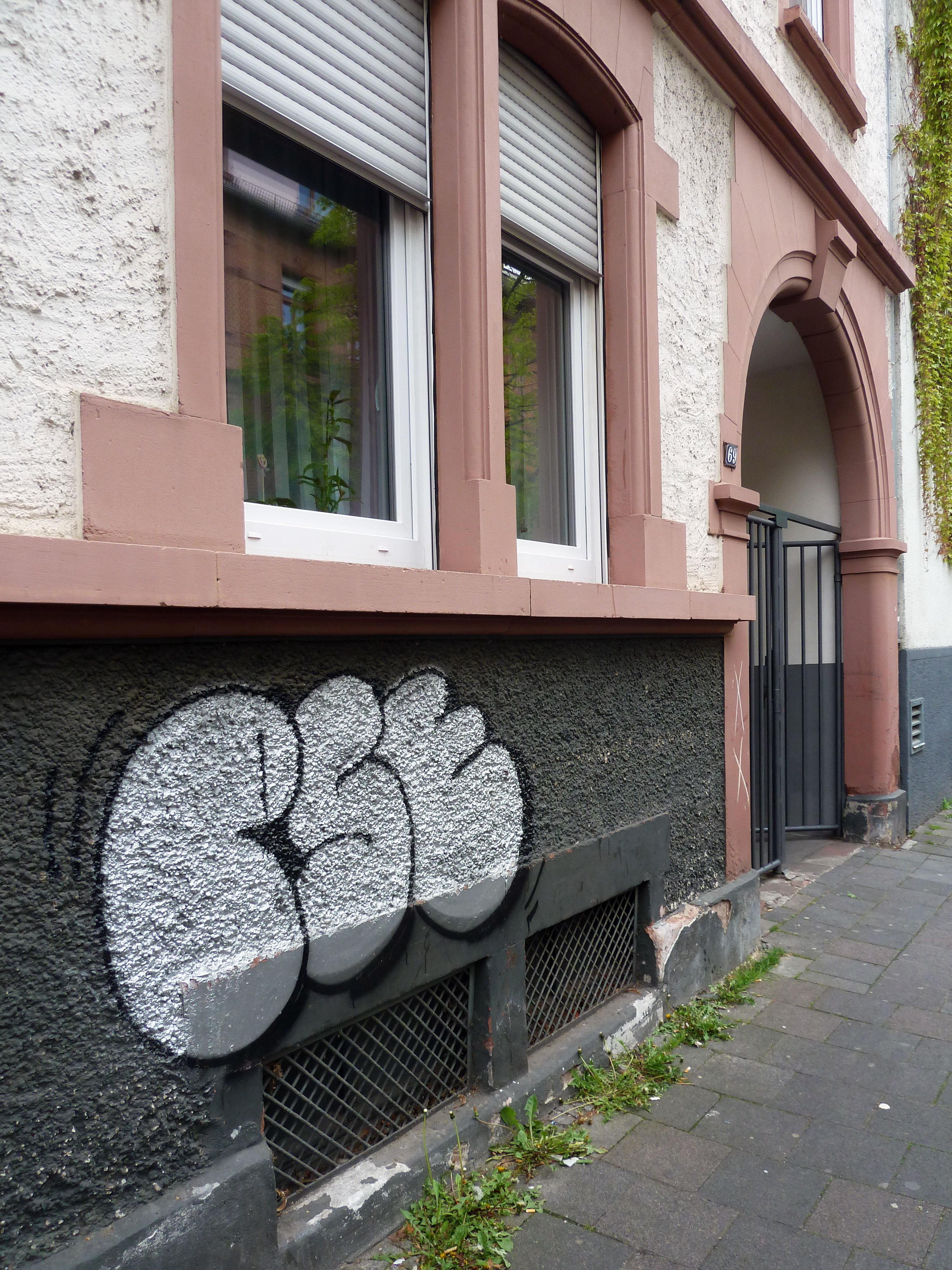 PSE-Graffiti in Offenbach