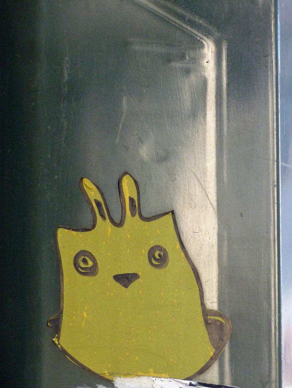 Sticker-Art in Mainz