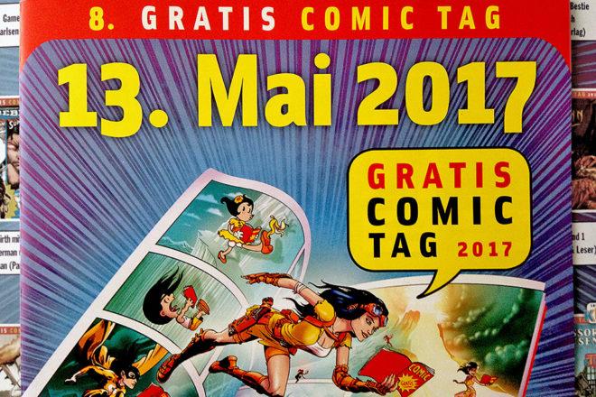 Gratis Comic Tag 2017