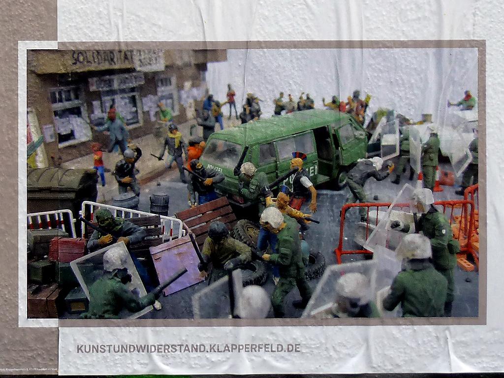 Kunst und Widerstand - Ausstellung im Klapperfeld