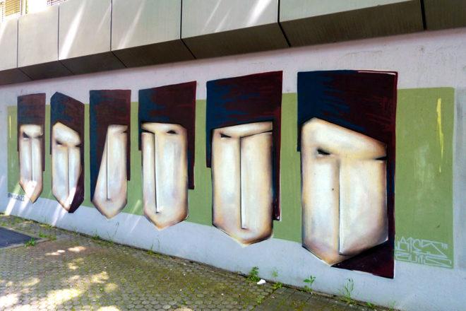 Streetart in Mainz von ATES