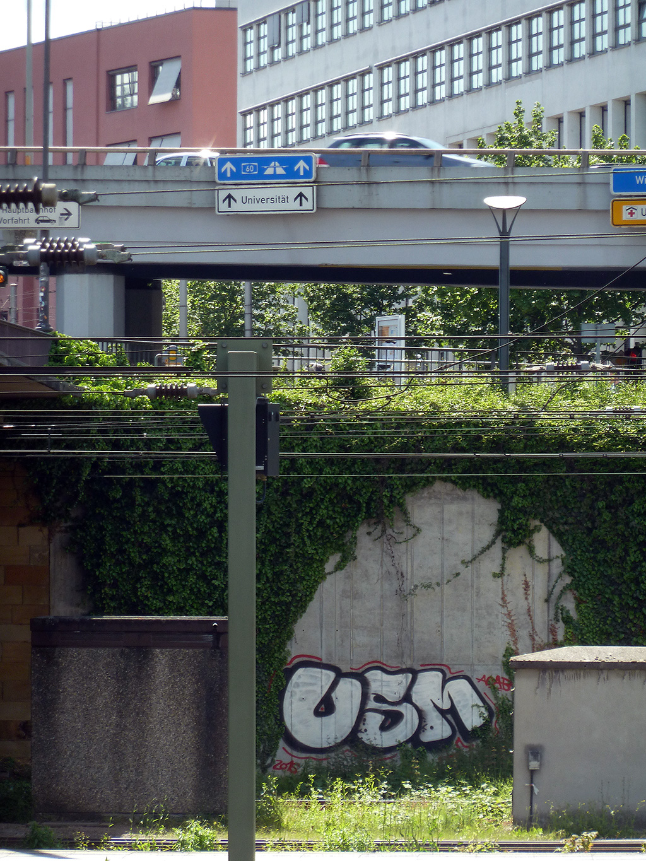 USM-Graffiti in Mainz