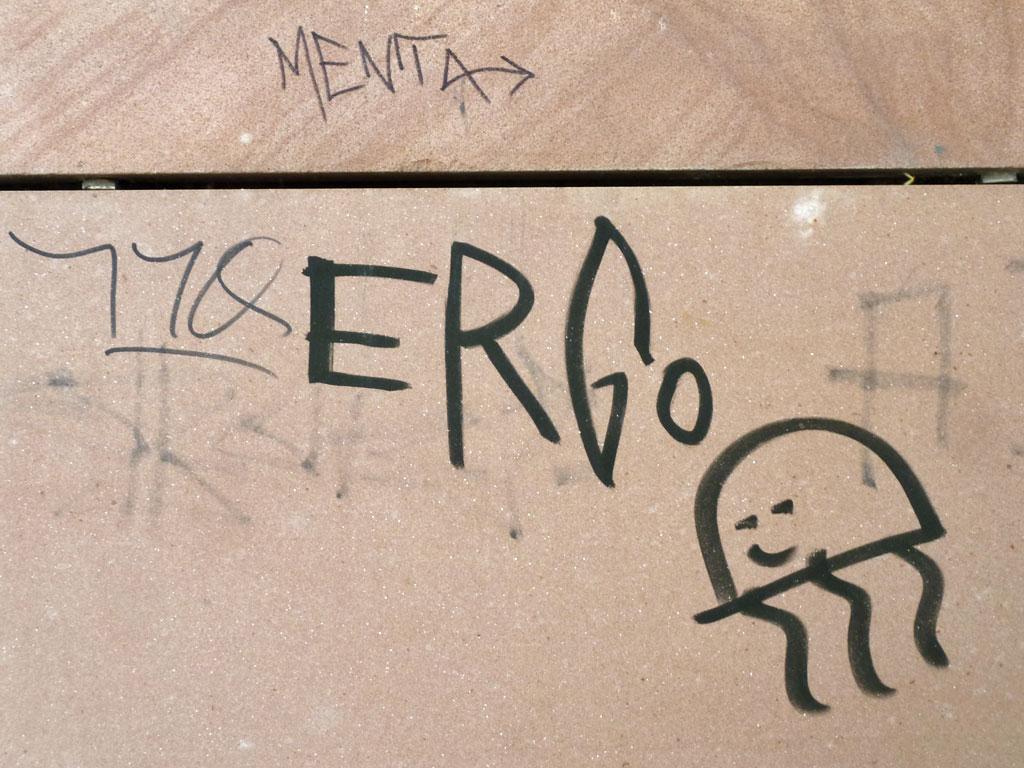 Tags und Streetart in Mainz