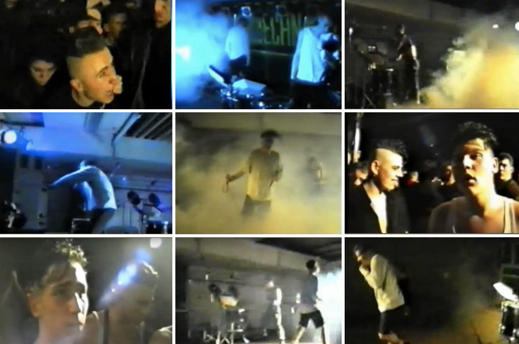 Nitzer Ebb live in Frankfurt 1989