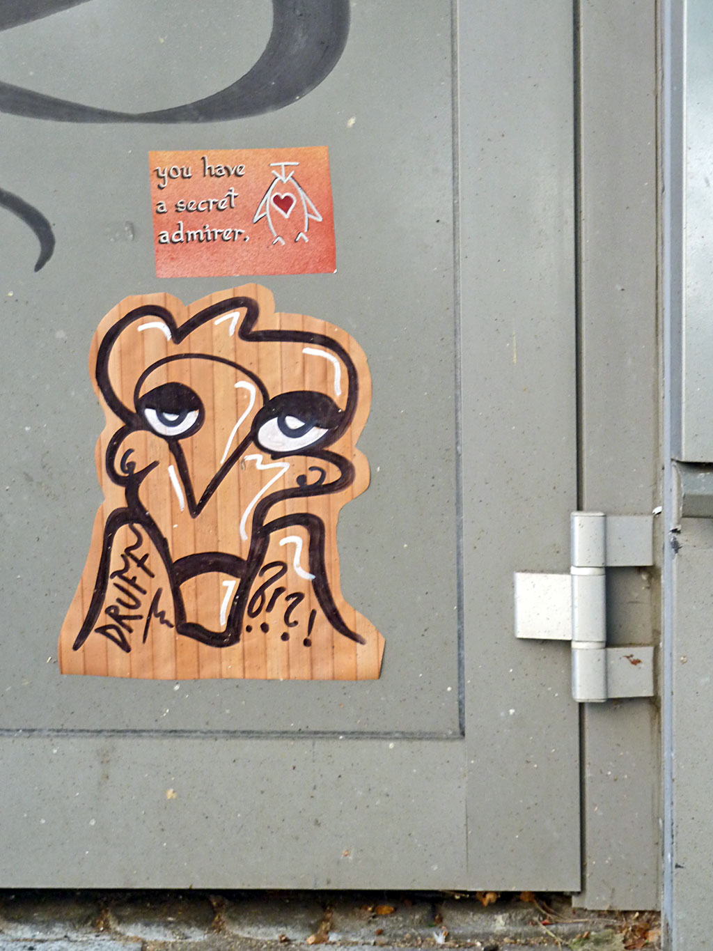 Sticker-Art in Mainz
