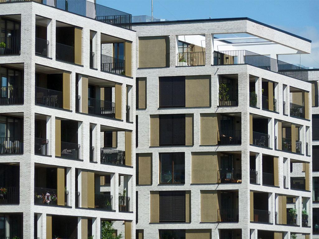 Neuer Wohnraum am Hafen in Offenbach