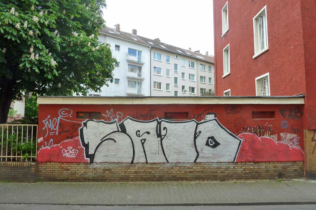 Graffiti von SAID