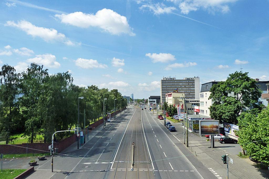 Rund um das Cassella-Gelände in Frankfurt-Fechenheim