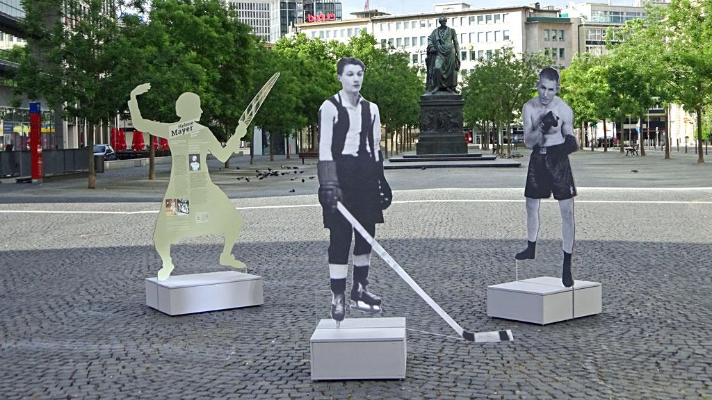 Jüdische Stars im deutschen Sport bis 1933 und danach