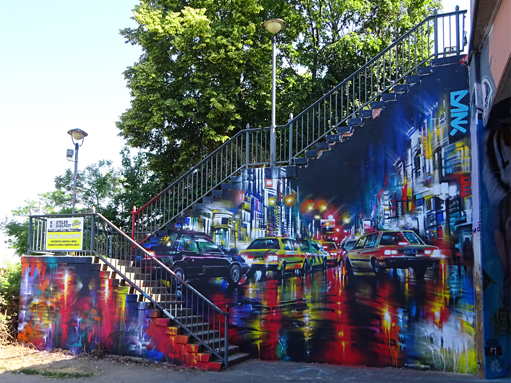 Dan Kitchener-Mural beim Meeting of Styles 2017 in Wiesbaden Mainz-Kastel