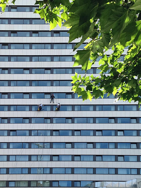 Glas- und Gebäudereiniger im Gutleutviertel