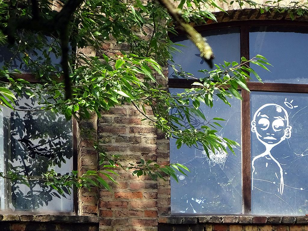 Fenstermalerei in Bornheim