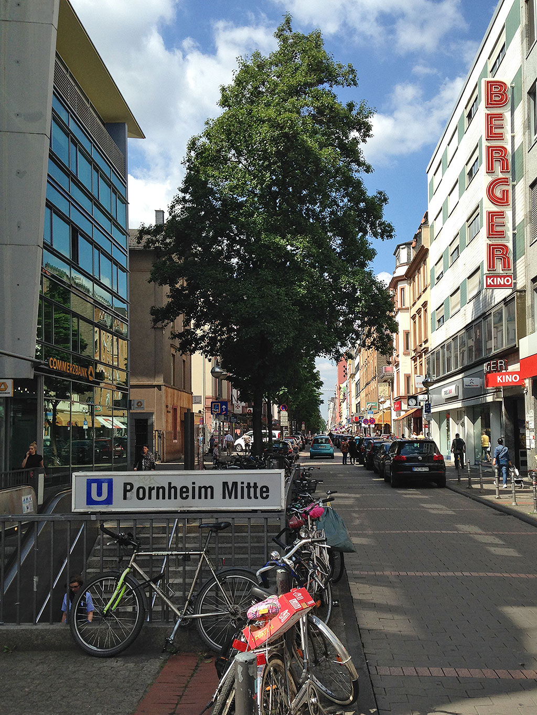 Alle Jahre wieder: Pornheim Mitte statt Bornheim Mitte.