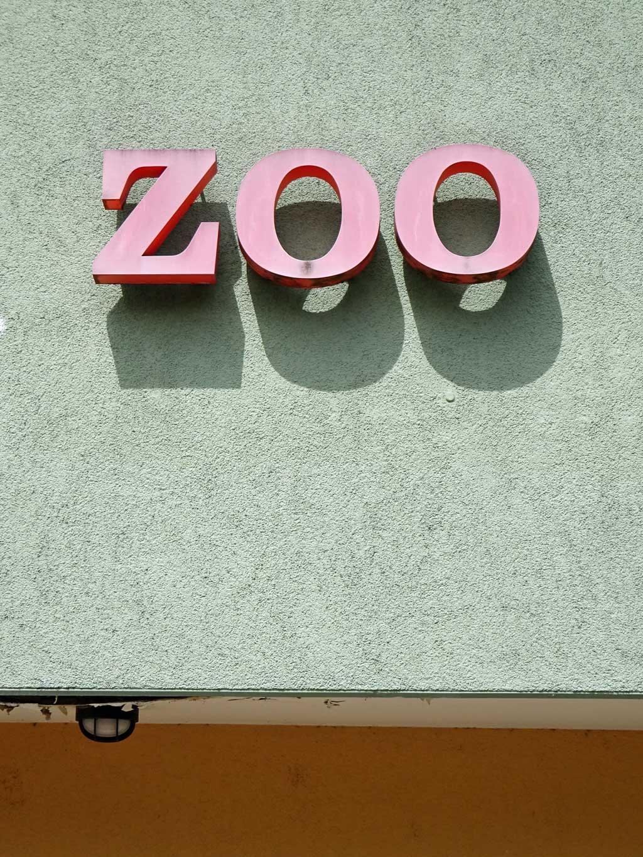 Typografie Frankfurt: Zoo