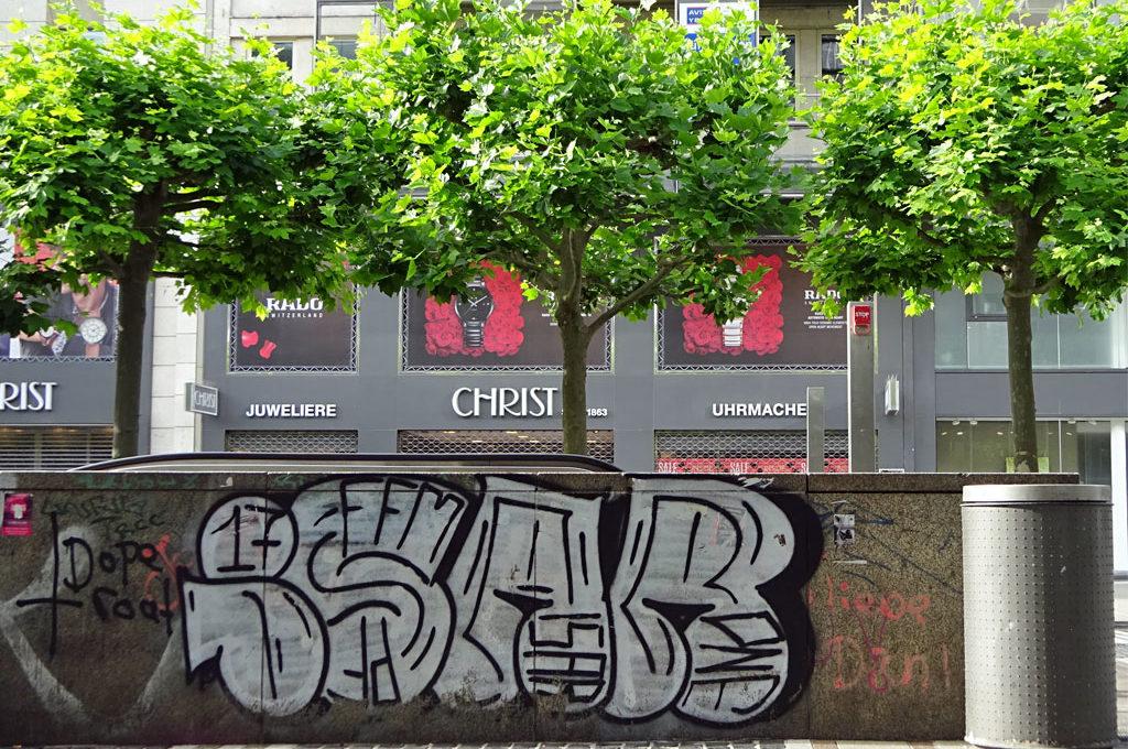 ISAR-Graffiti in Frankfurt