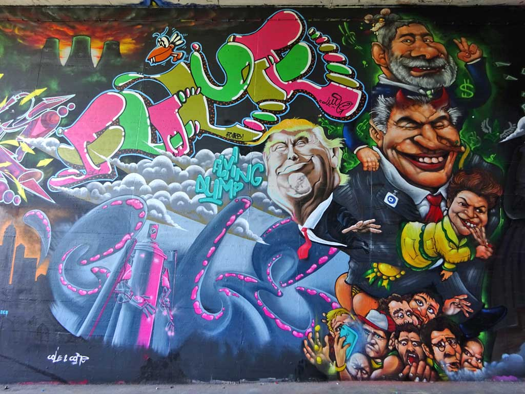 Graffiti beim Meeting of Stlyes 2017 in Wiesbaden