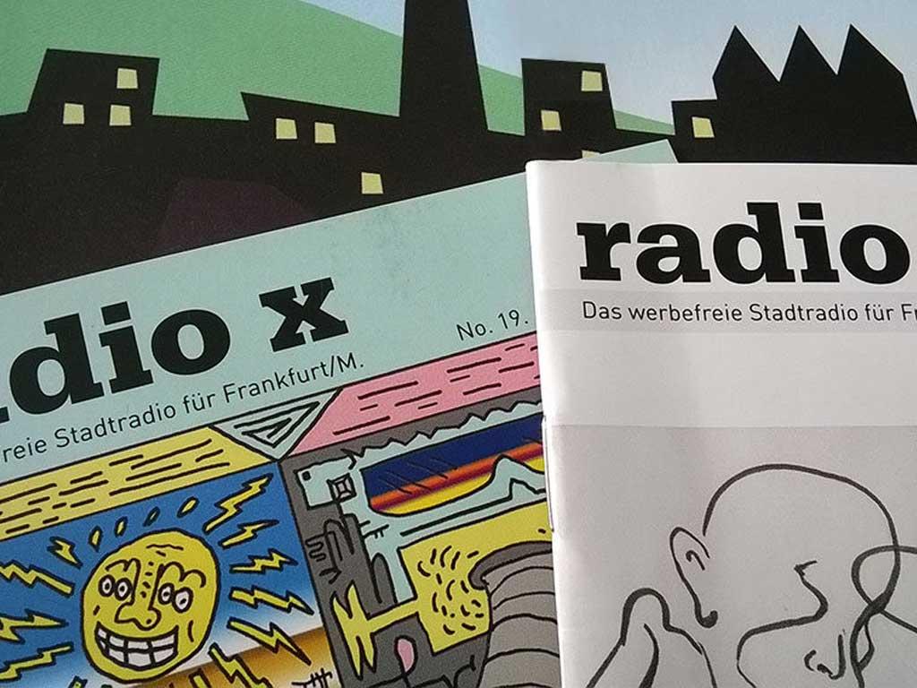Radio X Programmheftcover