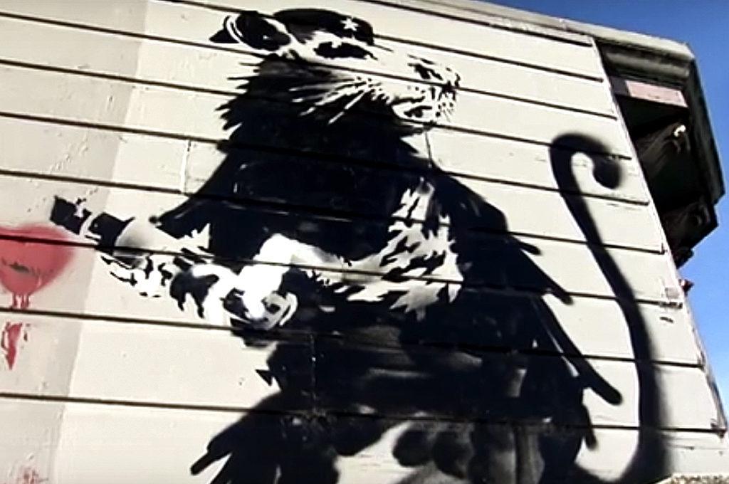 """Streetart-Dokumentar """"Saving Banksy"""""""