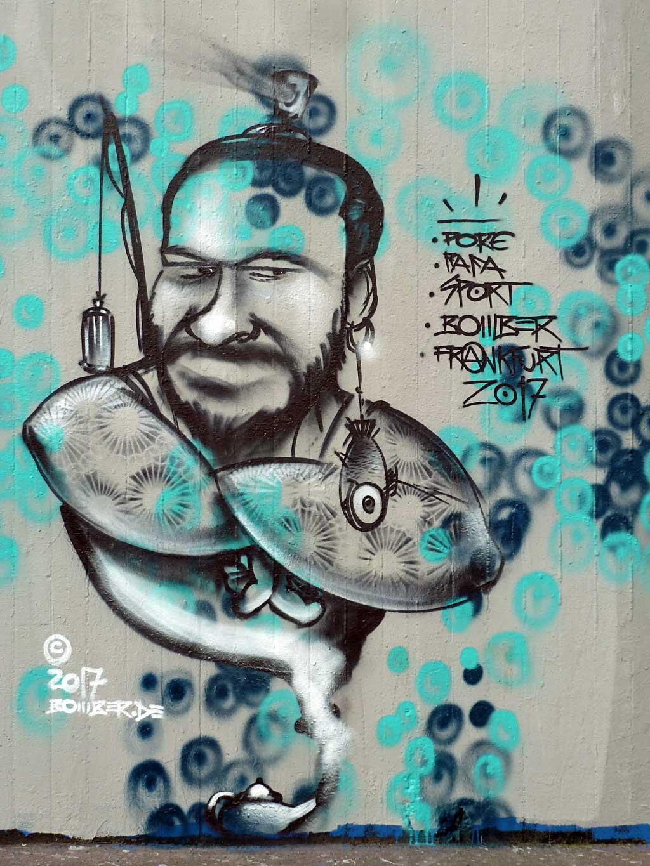Bomber - Graffiti in Frankfurt – Hall of Fame am Ratswegkreisel