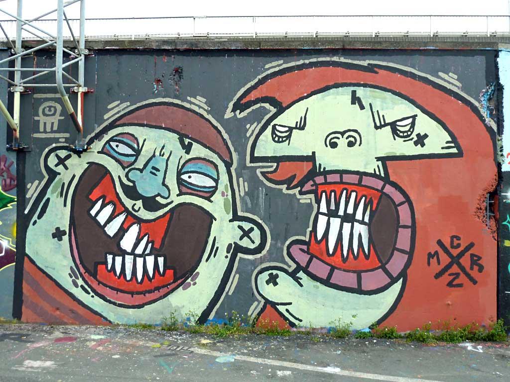 MRCZ - Graffiti in Frankfurt – Hall of Fame am Ratswegkreisel