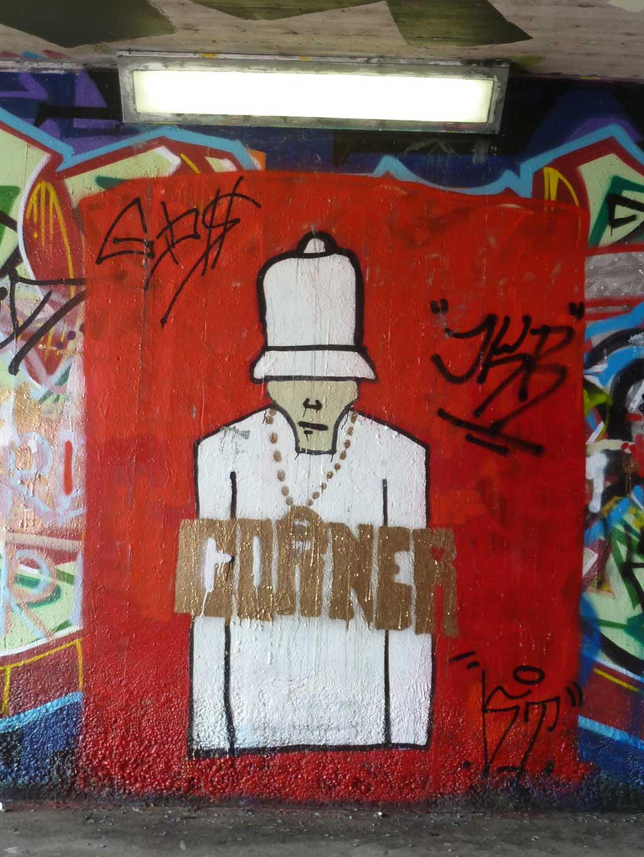 CORNER-Graffiti am Ratswegkreisel