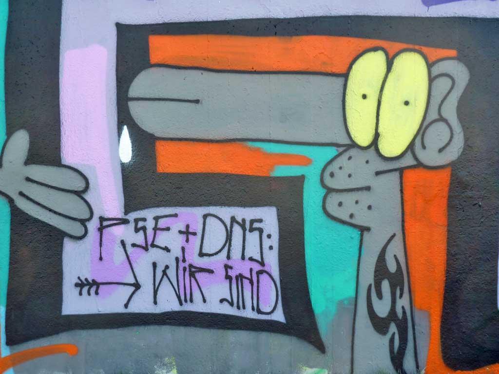 CPUK - Graffiti in Frankfurt – Hall of Fame am Ratswegkreisel