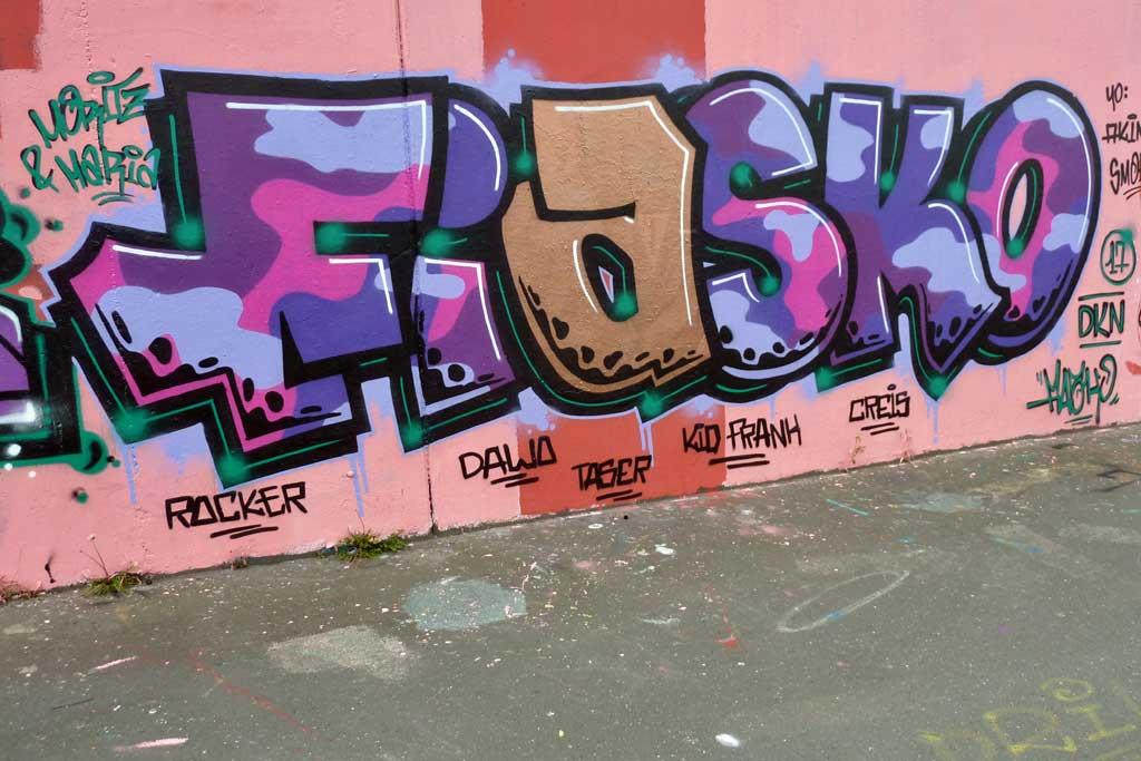 FIASKO-Graffiti am Ratswegkreisel
