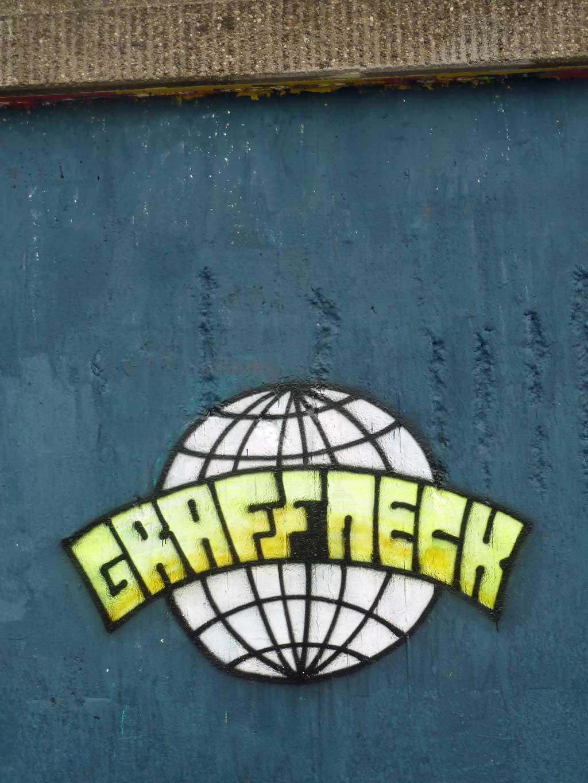 Graffiti in Frankfurt – Hall of Fame am Ratswegkreisel