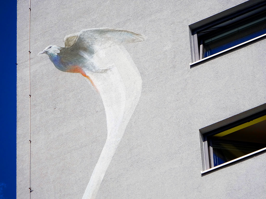 Mural Art in Frankfurt von Guido Zimmermann