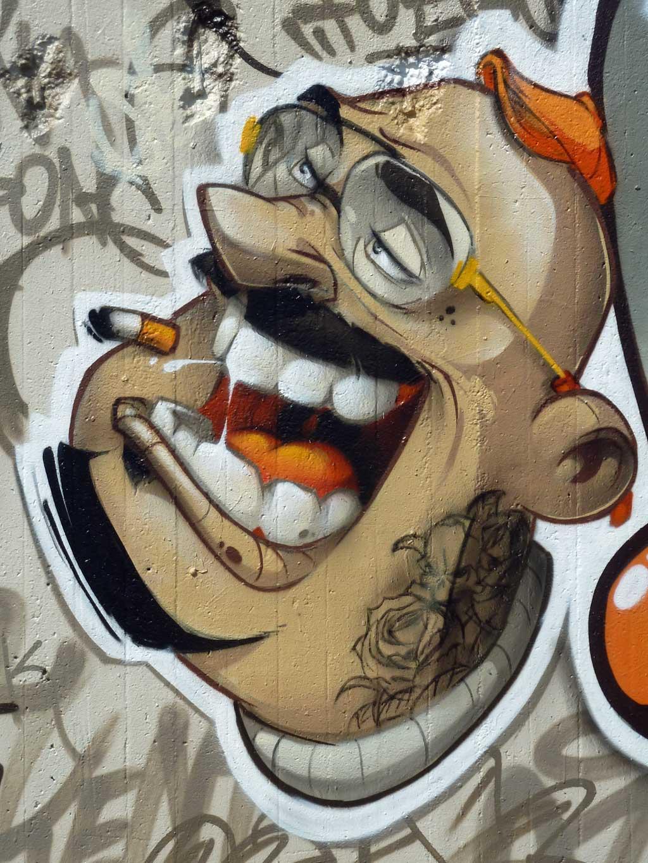 HOMBOOG-Graffiti am Ratswegkreisel