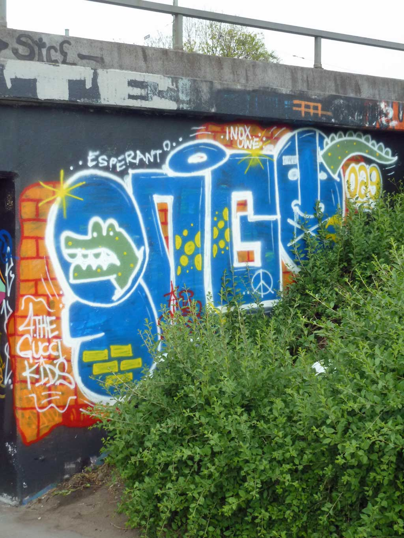 Ingo - Graffiti in Frankfurt – Hall of Fame am Ratswegkreisel