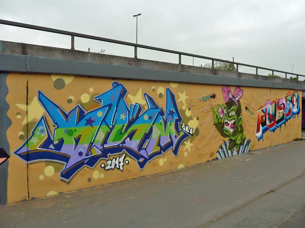 Renegades - Graffiti in Frankfurt – Hall of Fame am Ratswegkreisel