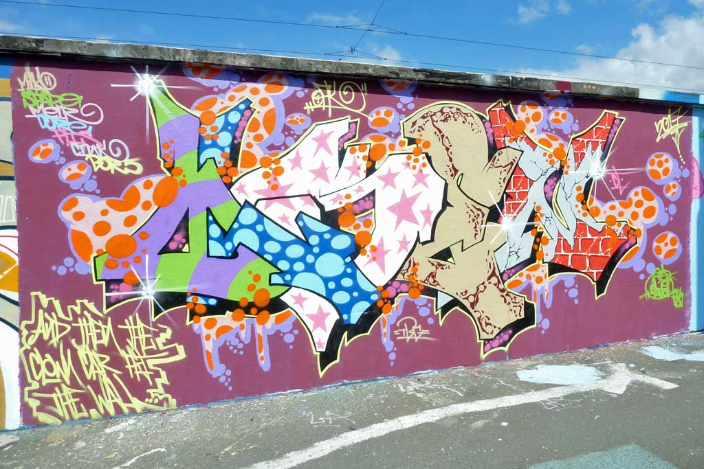OLSEN-Graffiti am Ratswegkreisel