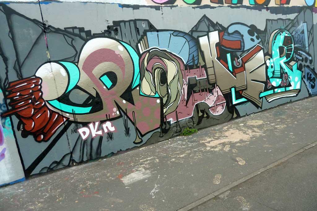 Rocker - Graffiti in Frankfurt – Hall of Fame am Ratswegkreisel