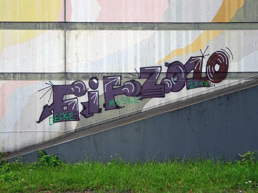 Graffiti von GIF und 2010