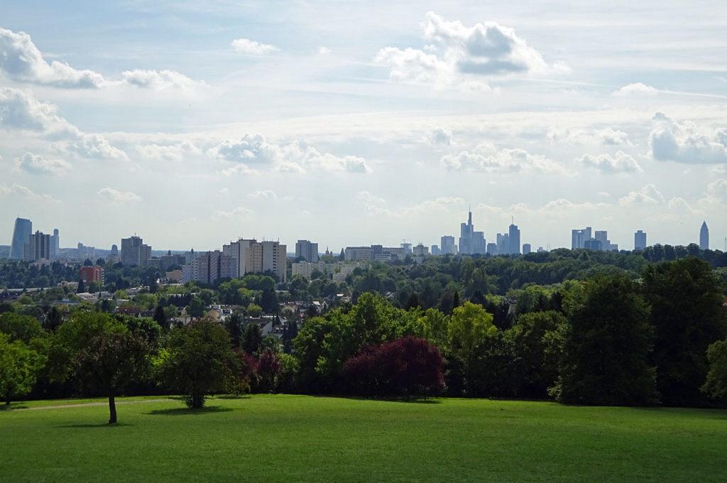 Panorama vom Lohrberg aus gesehen