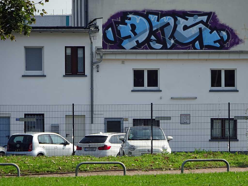 Rooftop-Graffiti von DNS