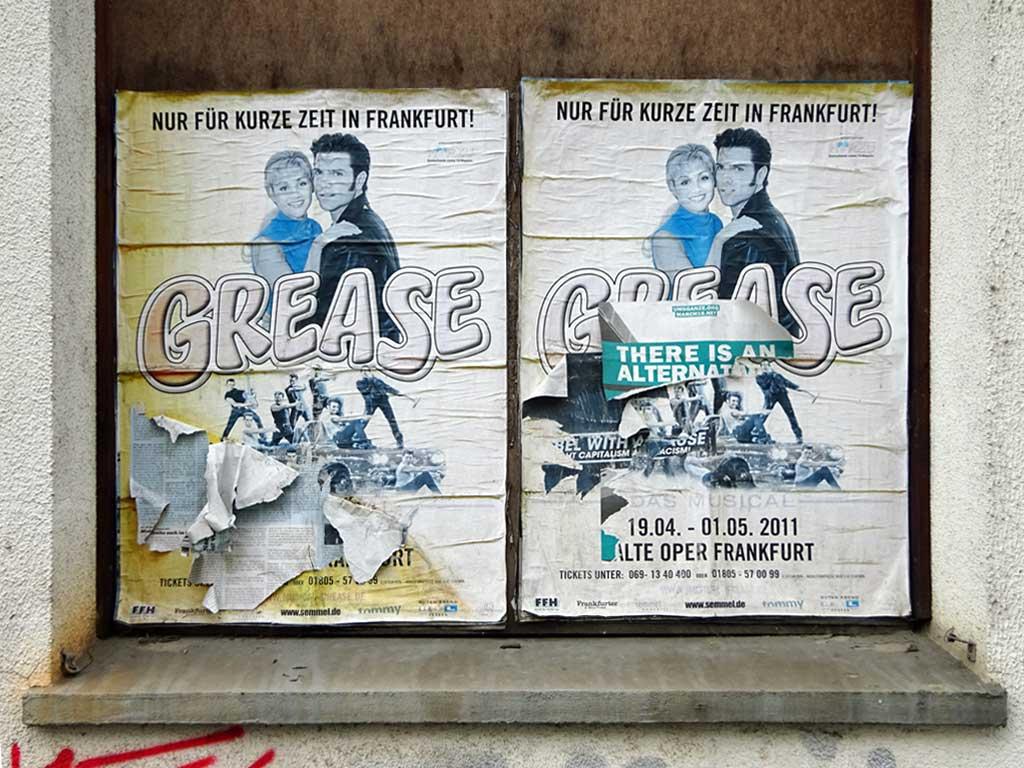 Alte Werbeplakate