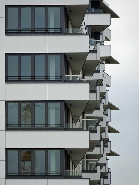 Neubau im Europaviertel