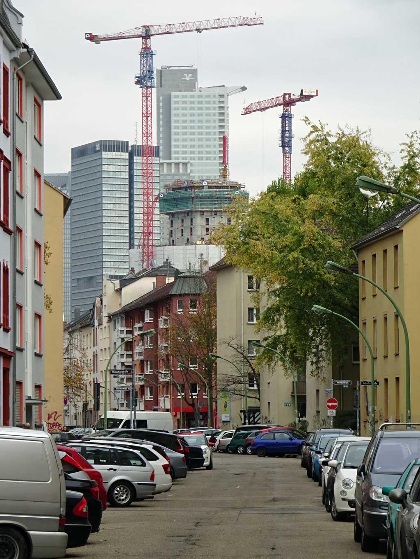 Blick in die Koblenzer Straße