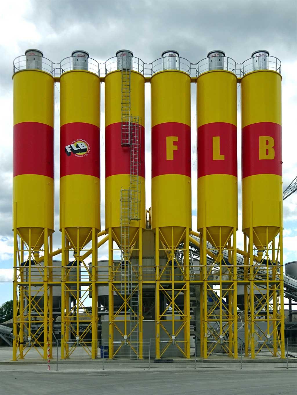Betonwerk von FLB in Frankfurt am Main.