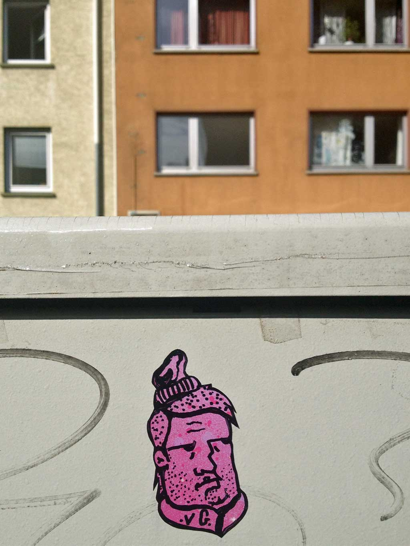 VG-Streetart in Frankfurt