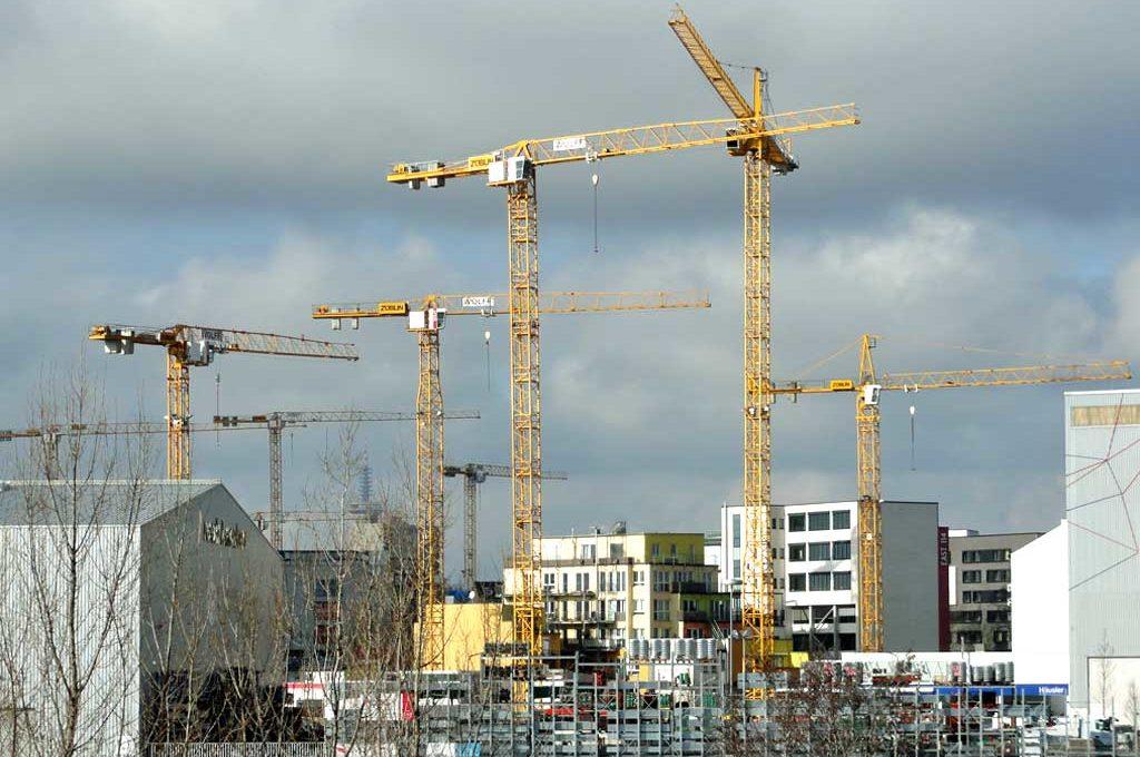 Mayfarth-Baustelle in Frankfurt