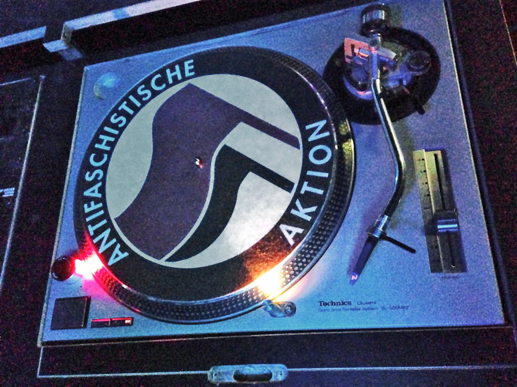 Antifa-Slipmat.