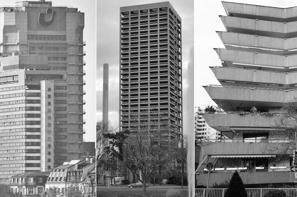 Brutalismus in Frankfurt